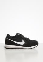 Nike - Nike md runner 2 (psv) - black/white