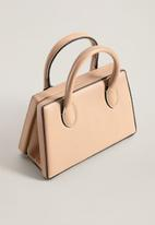 MANGO - City bag - light pastel pink