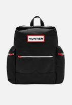 Hunter - Org mini topclip backpack nylon - black