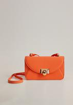 MANGO - Cayetana bag - orange