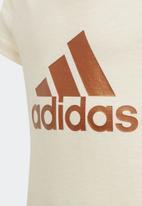 adidas Performance - ID winner short sleeve tee - beige