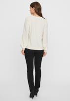 Vero Moda - Maria long sleeve top - birch