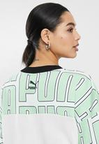 PUMA - Long sleeve crew - green