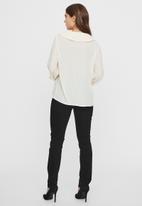 Vero Moda - Mila long sleeve top - birch