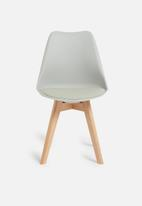 Sixth Floor - Ada dining chair - grey
