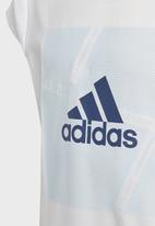 adidas Performance - Branded T-shirt - white