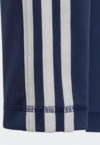 adidas Performance - 3 stripe leggings - blue