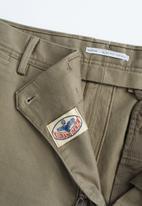 MANGO - Borne6 trousers - beige & khaki