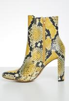 ALDO - Aurellane boot - yellow & black