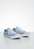 Converse - Chuck Taylor All Star street mosaic ox - white/wild lilac/black