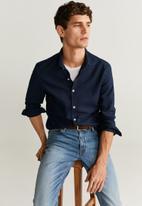 MANGO - Arthur shirt - navy