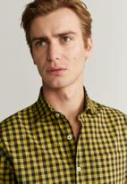 MANGO - Pair shirt - yellow