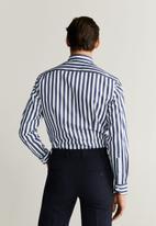 MANGO - Roca shirt - pastel grey
