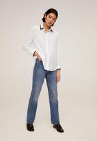 MANGO - Shirt nerita - white