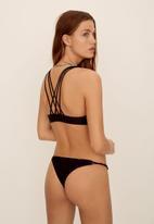 MANGO - Mai bikini top - black