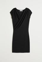 MANGO - Dress marta - black