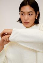 MANGO - Purl knit sweater - neutral