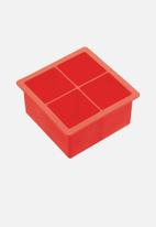 Kitchen Craft - Jumbo ice cube tray - red