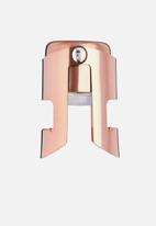 Kitchen Craft - Champagne & prosecco stopper - rose gold