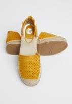 Footwork - Oaklynn espadrille - yellow