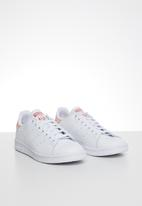 adidas Originals - Stan smith junior - ftwr white & power pink