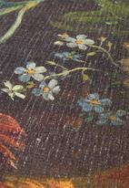 Hertex Fabrics - Astereae round rug - golden
