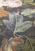 Hertex Fabrics - Poppy round rug - field