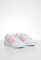 adidas Originals - Team court junior - ftwr white/glory pink/core black