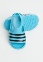 adidas Originals - Adilette play infant - signal cyan & core black