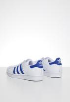 adidas Originals - Superstar junior - ftwr white & team royal blue