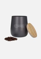 Kitchen Craft - Coffee canister - charcoal
