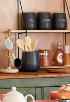 Kitchen Craft - Sugar canister - charcoal