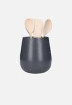 Kitchen Craft - Utensil holder - charcoal