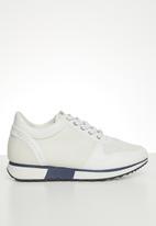 POLO - Dalia fashion sneaker - white & navy