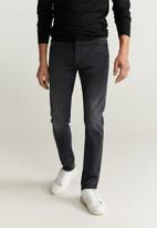 MANGO - Jude  jeans - grey