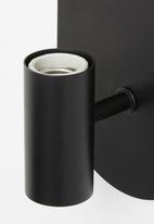 Sixth Floor - Kim wall light - black