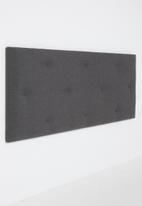 Sixth Floor - Surface button headboard - charcoal