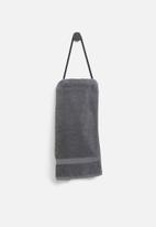 Smart Shelf - Archi towel holder - black