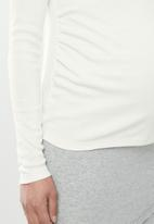 Cotton On - Maternity henley long sleeve top - gardenia