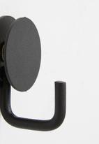 Smart Shelf - Archi wall towel hook - black