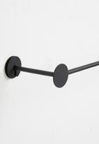 Smart Shelf - Archi wall towel rack - black