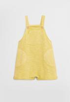 MANGO - Jumpsuit berto - yellow