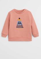 MANGO - Sweatshirt captain - terracotta