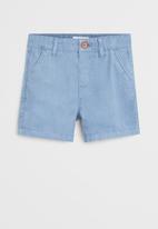 MANGO - Bermuda shorts berchi6 - blue