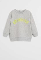 MANGO - Sweatshirt faster - grey