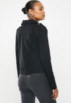 edit - Ponti biker jacket - black