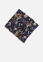 Sexy Socks - Dark floral print snood - multi