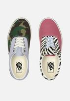 Vans - Era - (mismatch) zebra/camo