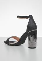Miss Black - Zama block heel - black