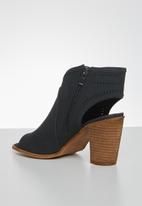 Miss Black - Moon heel - black